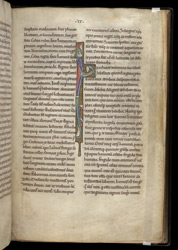 Illuminated Initial, In A Collection Of Medical And Herbal Texts f.8r